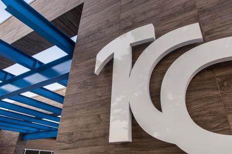 TCC logo on Building